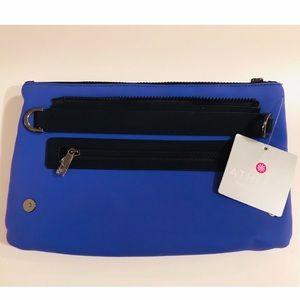 Athleta x Caraa pouch crossbody or fanny pack blue